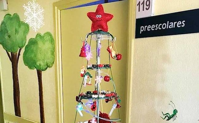 Diferentes actividades festivas en el hospital para los pacientes infantiles