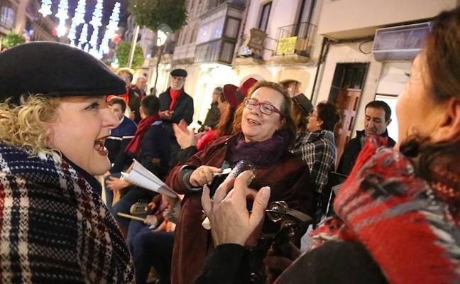 Villancicos flamencos en las calles comerciales para generar ambiente y animar las compras