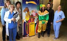 El hospital de Úbeda culminó los actos festivos para sus pacientes infantiles con motivo de la Navidad