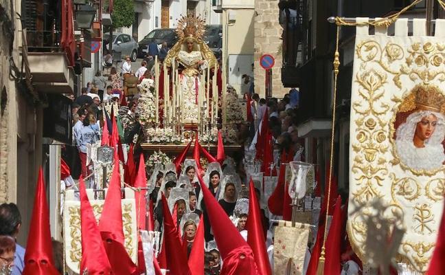 Los hermanos del Resucitado conocerán el proyecto para procesionar a costal a Nuestra Señora de la Paz