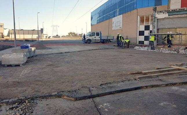 Una nueva calle unirá los dos sectores en los que está dividido el polígono industrial de Úbeda