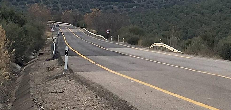 Mejora de la seguridad vial en la carretera A-301 La Carolina-Úbeda
