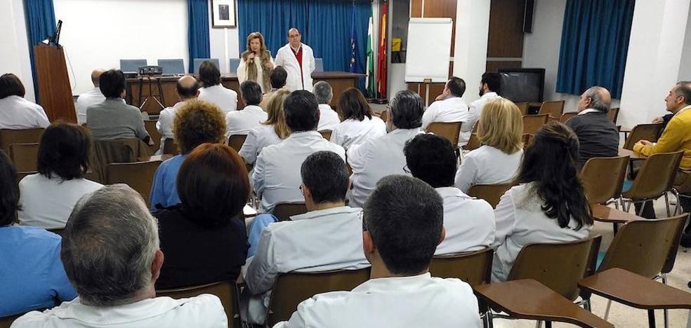 La Junta respalda a los profesionales del hospital de Úbeda