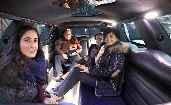 De compras en limusina hasta 'derretir' 7.000 euros