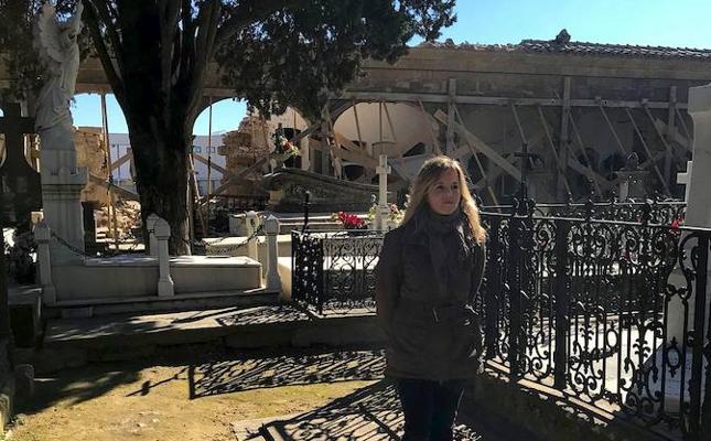 Rehabilitación de la galería este del primer patio del cementerio de San Ginés de Úbeda