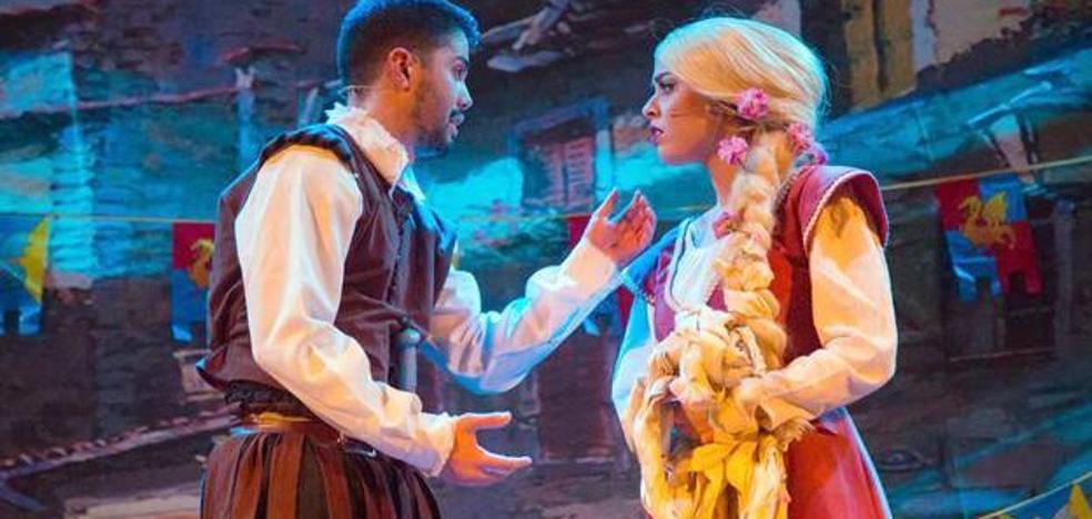 El musical 'Rapunzel' llegará hoy al Teatro Ideal Cinema de Úbeda
