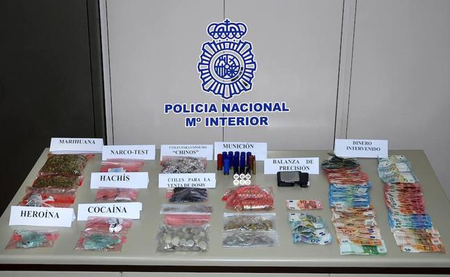 La Policía Nacional desmantela un «supermercado de droga» en Úbeda