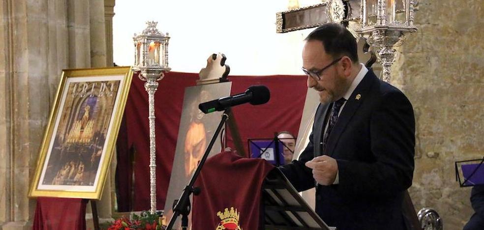 Alfonso Donoso Baella pronunció la Exaltación de la Semana Santa