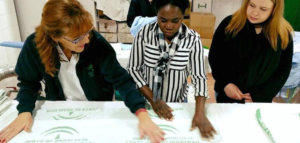 Estudiantes europeos con necesidades educativas especiales realizan prácticas en Úbeda