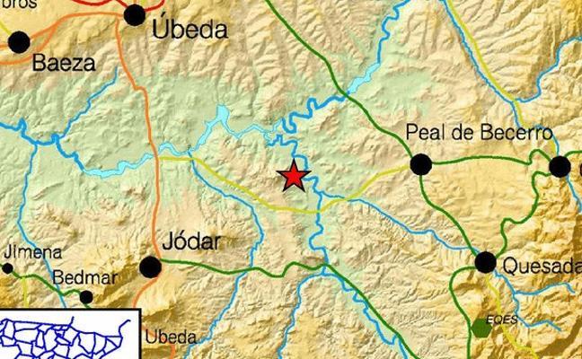 Terremoto moderado en Úbeda