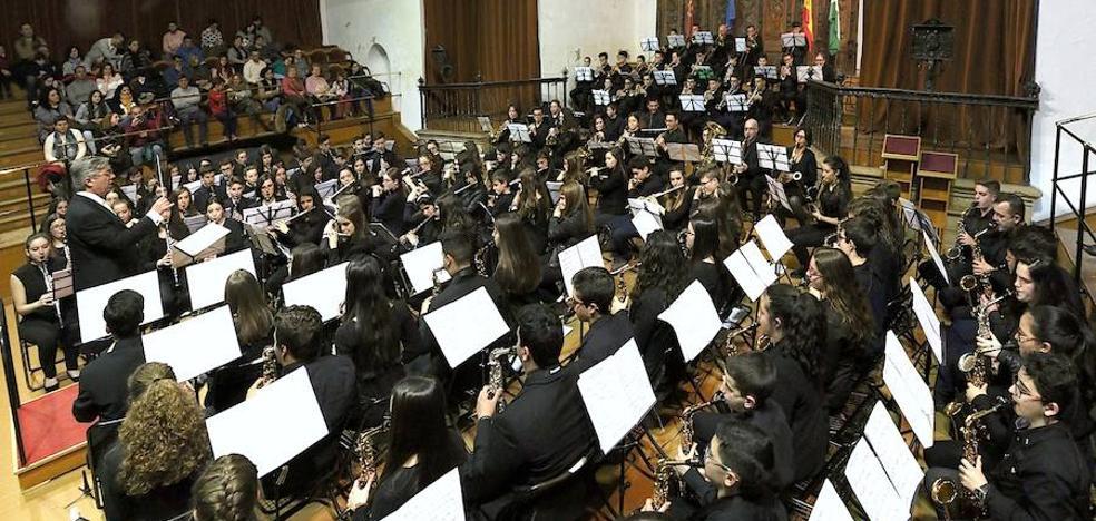 Concierto de las bandas del Conservatorio Profesional de Música 'María de Molina' de Úbeda