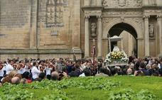 La Virgen de Guadalupe ya está en Santa María