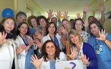 El hospital de Úbeda fomenta la higiene de manos entre sus pacientes y profesionales