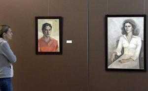 Veinticinco retratos y un autorretrato firmados por el ubetense Baltasar Raya