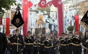 El barrio de San Millán se volcó con la Virgen de la Soledad en la festividad de la Ascensión