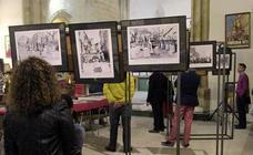 Exposición de fotografías y carteles de cultos de la Cofradía de la Oración en el Huerto