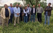 El PP denuncia el estado de «abandono y dejadez» de la Cañada Real El Paso