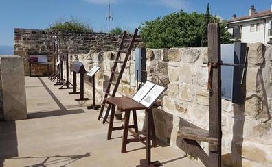 Exposición de instrumentos de tortura en el Torreón del Portillo del Santo Cristo