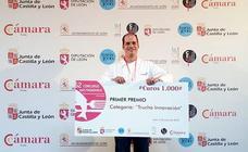 Alejo Pérez, de Tapería El Rastro en Úbeda, gana el 52 Concurso Gastronómico de la Trucha en León