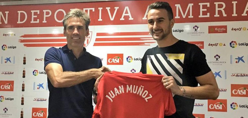 """Juan Muñoz: """"El Almería merece estar en Primera"""""""