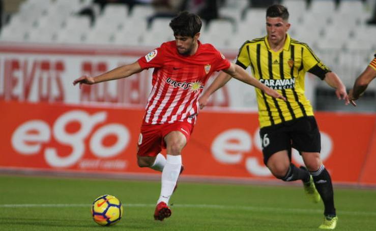 Un nuevo Almería pasa por encima del Real Zaragoza