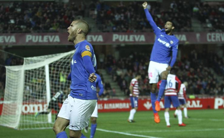 El Almería pasa de la euforia a la más grande decepción