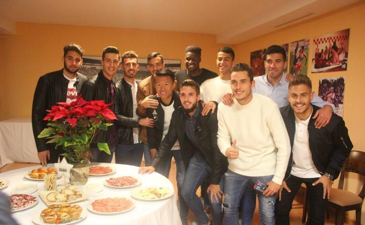 El Almería brinda por las fiestas