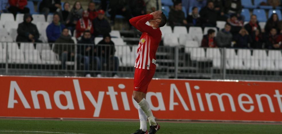 Al Almería se le escapa la victoria en el mismo minuto que la obtuvo ante el Lugo