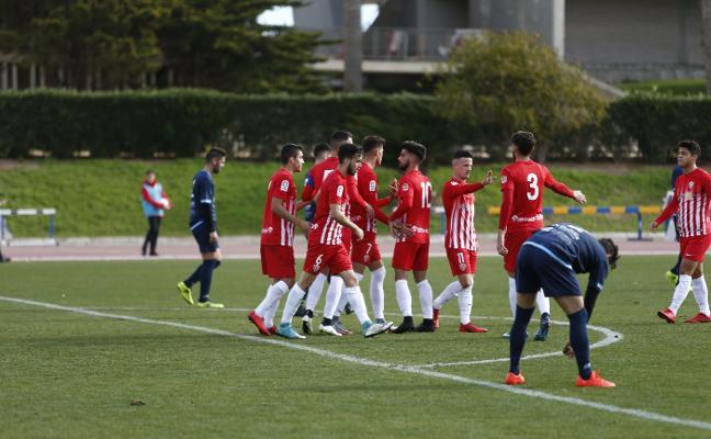 El Almería B inicia la 'semana loca' otra vez como segundo y segundo equipo menos goleado