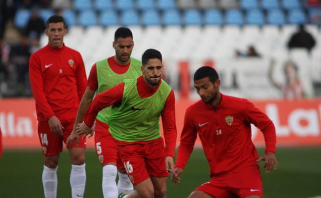 Derrota del Almería ante el Oviedo