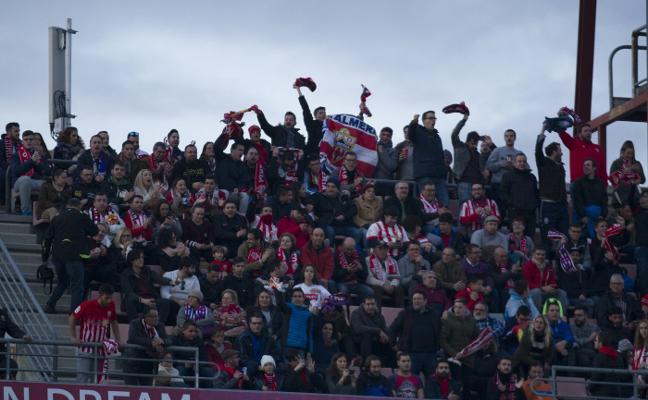 La UDA pondrá el lunes a la venta 400 entradas para el partido de Lorca