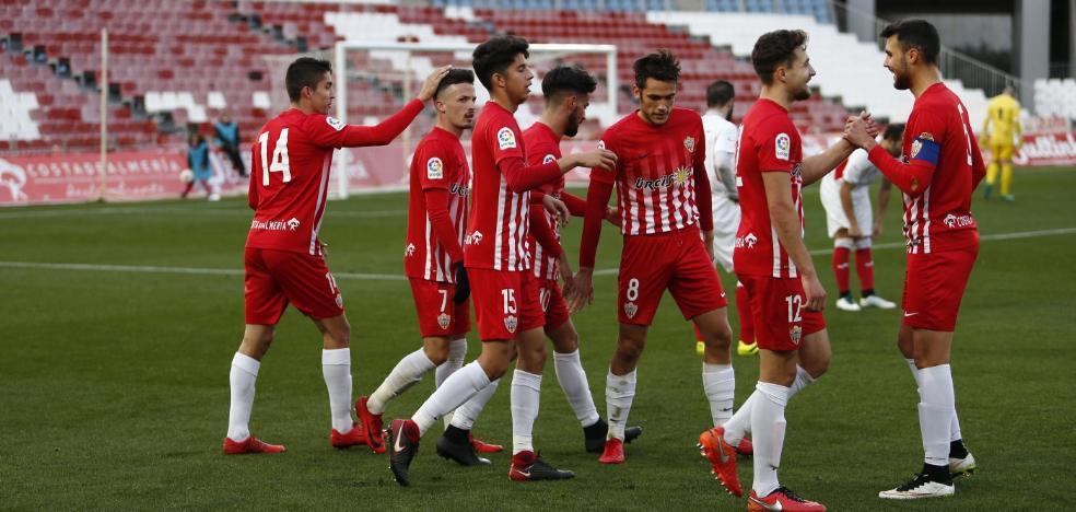 La UD Almería B recibe en el anexo a un At. Mancha Real que llega en racha