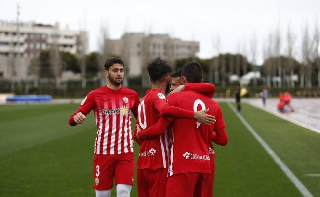 La UD Almería B mejora con creces todos sus registros del pasado campeonato de Liga