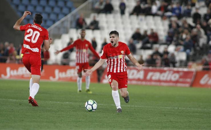 Las mejores imágenes de UD Almería - Rayo Vallecano