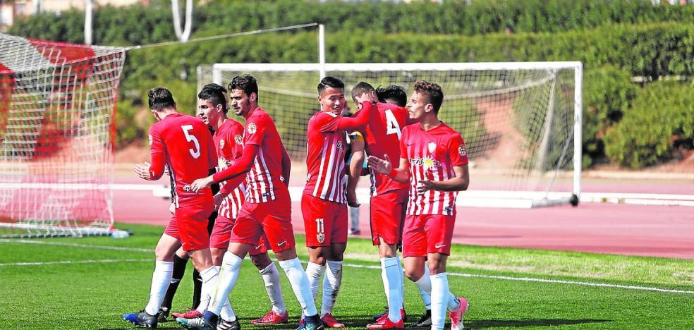 El Almería B recibe al Atarfe con el reto de lograr la quinta victoria consecutiva