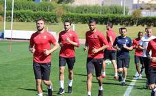 El Almería intenta recuperarse en el primer entrenamiento semanal
