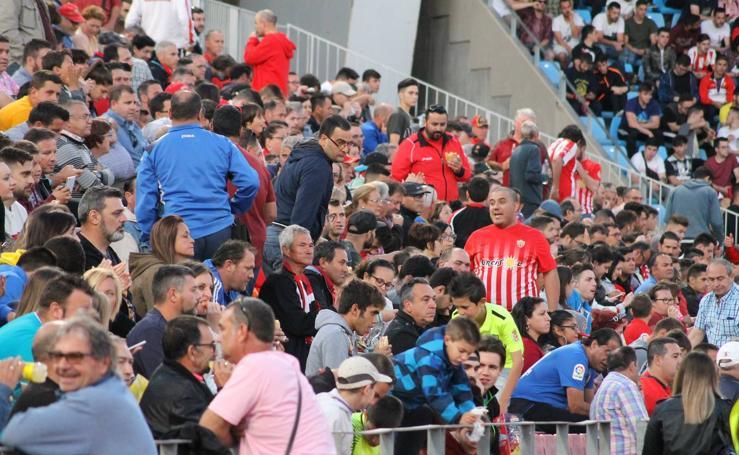 Las imágenes del Almería - Granada
