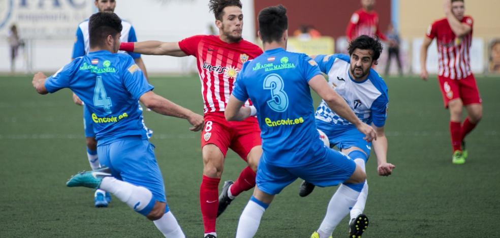 El Almería B se hace grande en Villarrubia