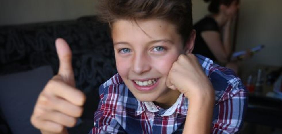 El alumno brillante que vino de la guerra de Siria