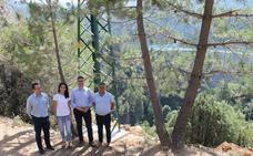 Mejoras en una línea de media tensión para proteger la sierra de Las Villas dentro del Parque Natural