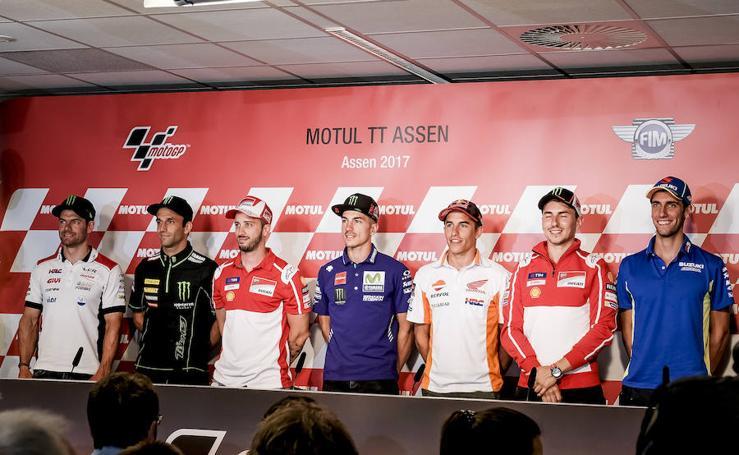 La presentación del GP de Holanda, en imágenes