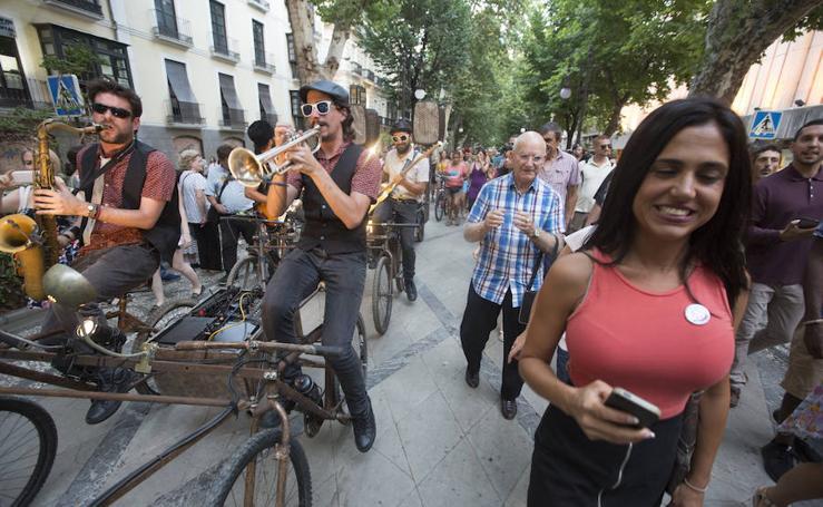 Funk y buen rollo por el centro de Granada