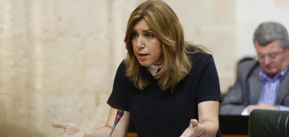 Susana Díaz anuncia que la renta mínima de inserción estará implantada en enero