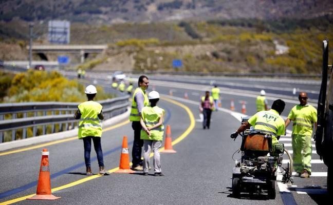 Un corte de vía obligará a los conductores a tirar de paciencia en sus viajes por Almería