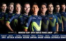 Movistar Team anuncia su nueve para el Tour