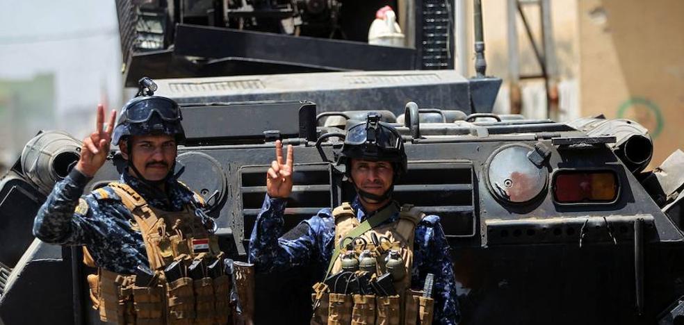 El Ejército iraquí logra un importante avance para la liberación de Mosul