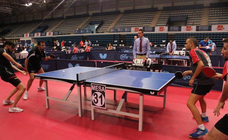 El tenis de mesa ya conoce a sus primeros ganadores en Almería