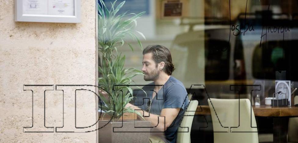 Jake Gyllenhaal se deja ver en el centro de Almería