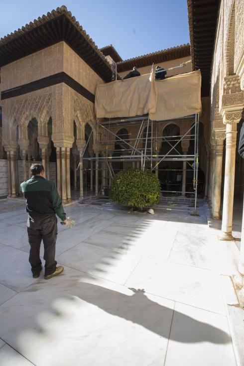 Jardineros carpinteros o fontaneros para la alhambra ideal - Restauradores granada ...