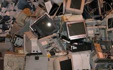 España es uno de los países con más basura electrónica sin control
